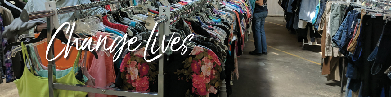 Rescue Mission Clothing Ministry