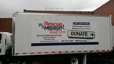 Winston-Salem Rescue Mission Thrift Store