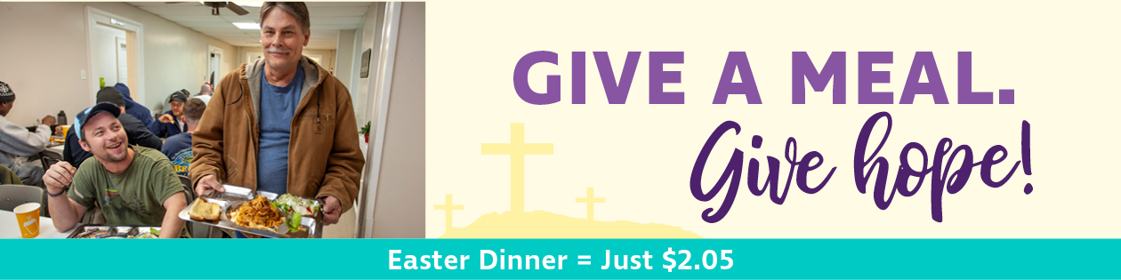 Give a meal and hope this Easter