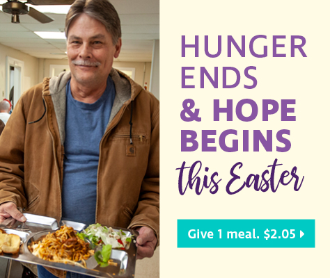 Hunger ends & hope begins this Easter