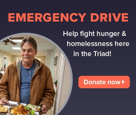 Help fight hunger and homelessness in the Triad