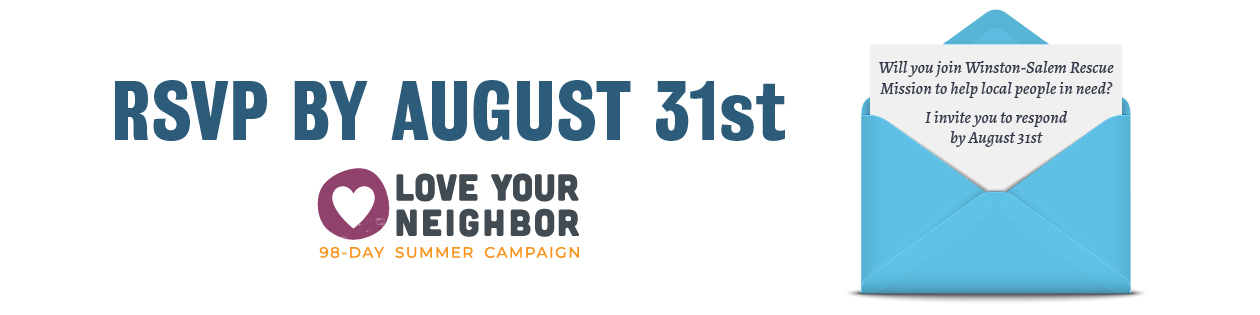 A special invitation to help by August 31st