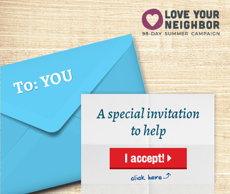 A special invitation to help